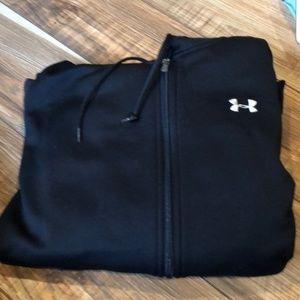 UA full zip hoodie